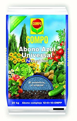 Compo 2204104011 Abono Azul Universal Novatec 20 Kg, 51x32x9 cm