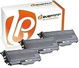 Bubprint 3 Toner kompatibel für Brother TN-2120 TN 2120 für DCP-7030 DCP-7040 HL-2140 HL-2150N HL-2170W MFC-7320 MFC-7440N MFC-7840W Schwarz 5200 S.