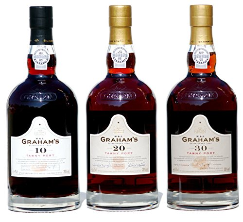 60 Jahre Port je 1 x 0,75 L Grahams 30 - 20 -10 Years old