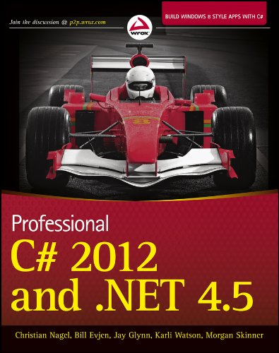 Professional C# 2012 and .NET 4.5 -
