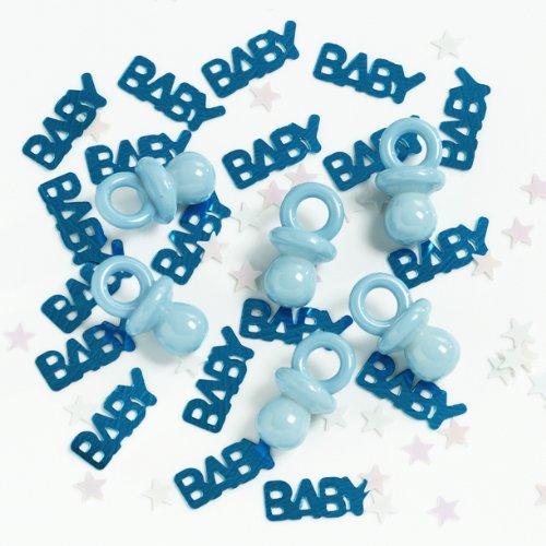 Baby Party Confetti Plus - Bleu Bébé Tétine Plus