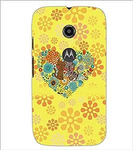 Printdhaba Cartoon D-4517 Back Case Cover For Motorola Moto E2