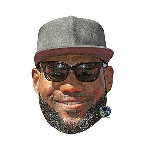 Celebrity Cutouts Lebron James Maske aus Karton
