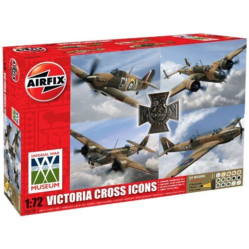 Airfix A50129 Victoria Cross Collection 1:72 Scale Plastic Model Gift Set