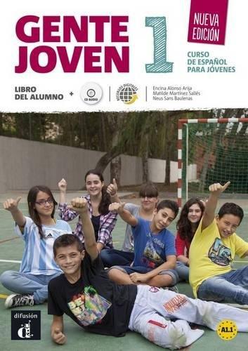 Gente Joven - Nueva Edicion: Libro Del Alumno + CD par Maison des langues