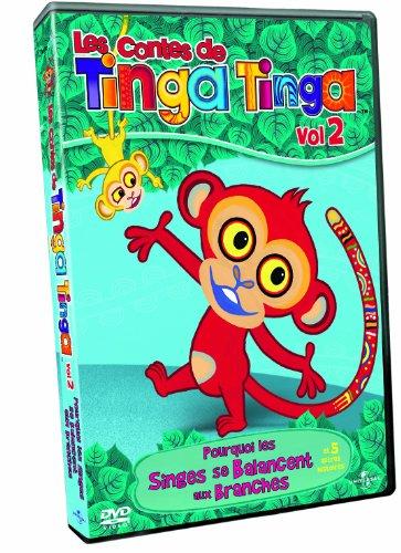 Les Contes de Tinga Tinga n° 2 Pourquoi les singes se balancent dans les arbres ?