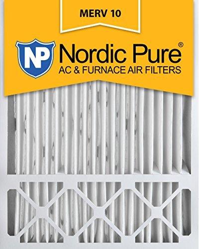 Nordic Pure 20x25x5, MERV 10, Honeywell Replacement Air Filter, Box of 1 by Nordic Pure (Honeywell 10 Filter Merv)