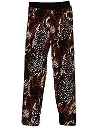 S&LU Mädchen Thermo-Leggings Hose Jeggings in verschiedenen Modellen mit weichem Fell gefüttert Größe 0-14