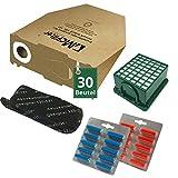 52 tlg Spar Angebot 30 Staubsaugerbeutel Filter Set und Duft passend für Vorwerk Kobold VK 130 , Kobold VK 131 und 131 SC
