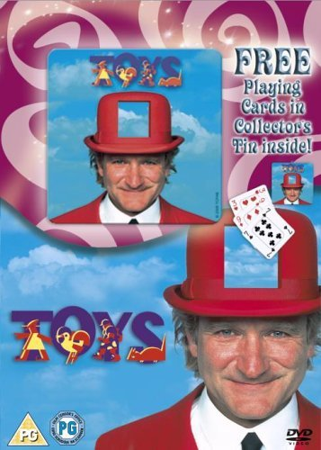 Toys [DVD] by Robin Williams