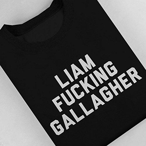Oasis Liam Fucking Gallagher Women's Sweatshirt Black