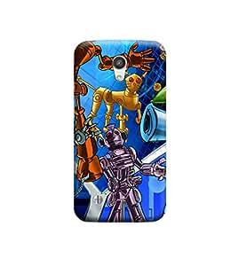 EPICCASE Premium Printed Back Case Cover With Full protection For Motorola Moto G2 (Designer Case)