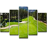 Die besten Golfplätze Poster - William 337 Golfplatz Aoyama Poster Dekoration Malerei, Schlafzimmer Bewertungen