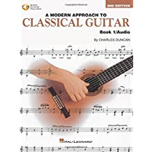 A Modern Approach To Classical Guitar Book 1 With Cd Gtr Book/Cd