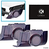 CamKix 2in1 Gimbal Lock and Camera Shield compatible with DJI Mavic Air - Set of 2 - Locks the Position of the Gimbal - Shields the Camera Against Impacts - Essential Kit