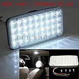 Qiyun Luce Abitacolo DC 12V 36 LED Lampada Plafoniera Veicolo da Interno per Auto Camion GT-698