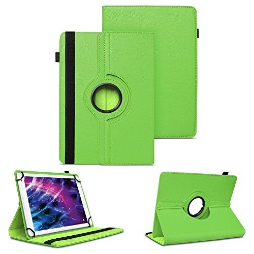 NAUC Hülle für Medion Lifetab S7852 Tasche Schutzhülle Case Tablet Cover Etui Grün