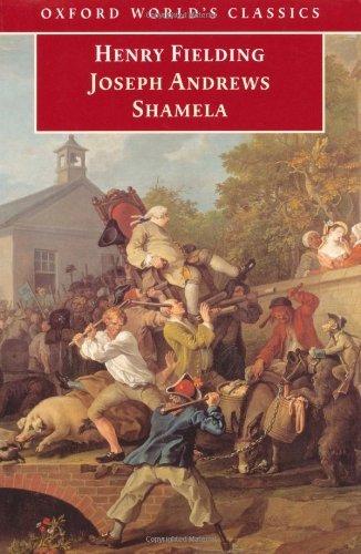 'Joseph Andrews' and 'Shamela'(Oxford World's Classics) by Henry Fielding (1999-07-08)