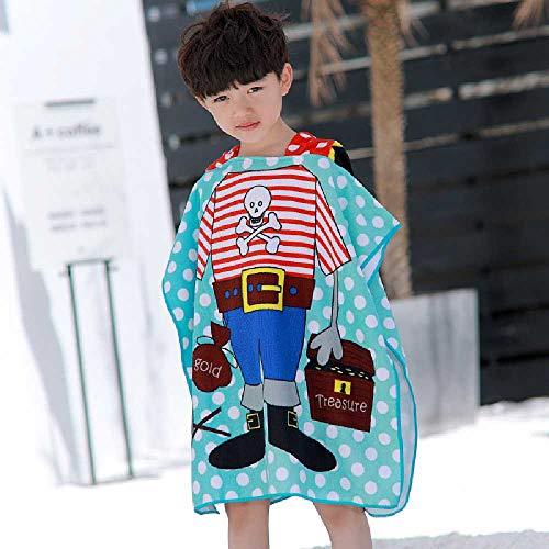 chenfengshangmao In der Baby - Bad Schwimmen kann - Kinder MIT Cap Handtuch Kleidung für Jungen und Mädchen am Strand DAS Handtuch. Der König der Piraten Kinder - umhang Handtuch