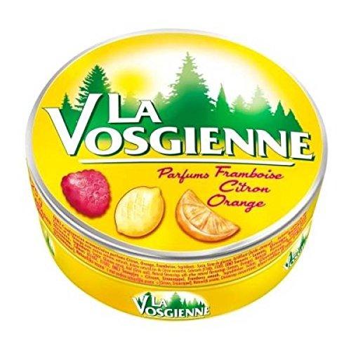 La vosgienne framboise citron orange 125g - ( Prix Unitaire ) - Envoi Rapide Et Soignée
