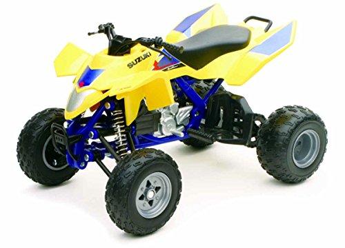 New Ray 43393 Moto Quad Suzuki R 450 2009  Modelo a escala Amarillo/Azul