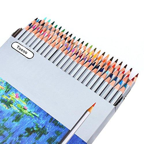 Yosoo 72 Farben Ölige Professional Buntstifte Farbstifte Colour Pencils für Mein Zauberwald Kinder...