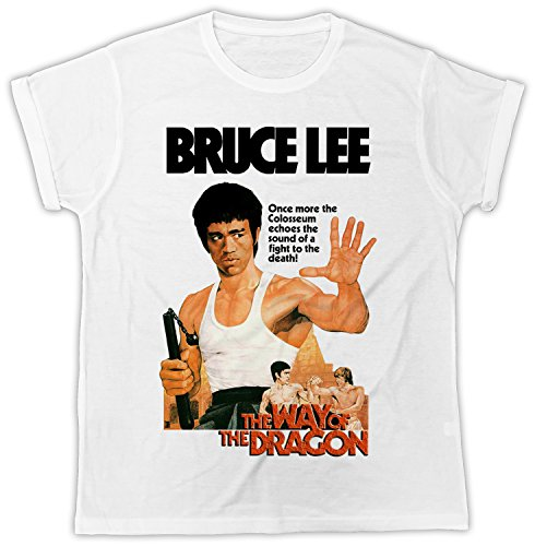 Uk print king Bruce Lee The Way of The Dragon Movie Poster Cooler Spruch, Slogan, Lustiges Design, Geschenkidee (Poster Großes Dragon)