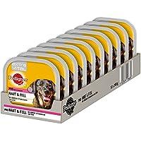 Pedigree Extra Vital Hundefutter Pro Haut und Fell, 10 Schalen (10 x 300 g)