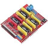 Hiletgo Shield V3Graveur imprimante 3d CNC Expansion Board A4988pilote pour Arduino