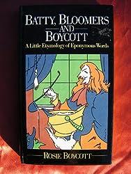 Batty, Bloomers and Boycott