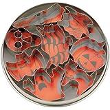 Städter 023604 - Stampini per biscotti, tema: Halloween, 8 pezzi, colore: Bianco