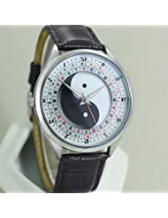 WZW Médecine chinoise Feng Shui Compass Unisex Watch