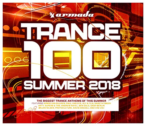 Preisvergleich Produktbild Armin Van Buuren / Gareth Emery / Dash Berlin: Trance 100 - Summer 2018 [4CD]