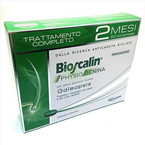 2x Bioscalin Physiogenina Mittel gegen Haarausfall für Herren 30Tabletten