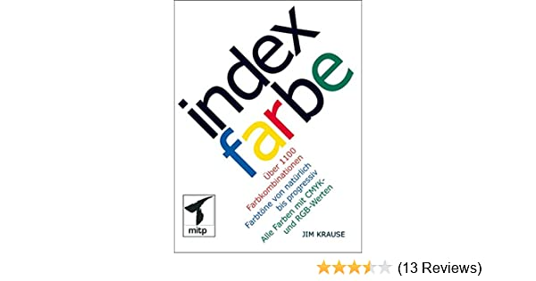 Index Farbe (mitp Grafik): Amazon.de: Jim Krause: Bücher