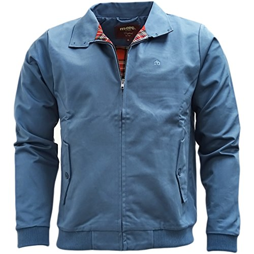 Merc Harrington,jacket-Giacca Uomo    Steel Blue Large