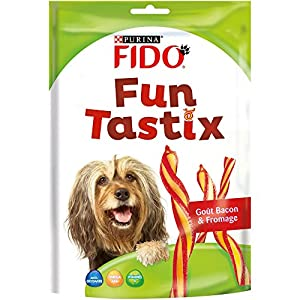 Fido Fun Tastix Friandises pour Chien Bacon & Fromage 150 g