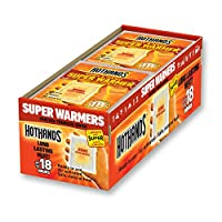 HotHands Body & Hand Super Warmers - Long Lasting Safe Natural Odorless Air Activated Warmers - Up to 18 Hours of Heat - 40 Individual Warmers