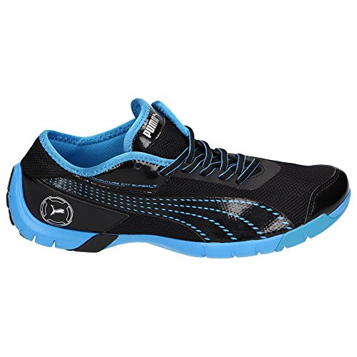 Puma  304428-03, Low-top homme Noir - Black/Malibu Blue