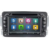 GPS DVD USB SD Bluetooth Radio 2Din navegador Mercedes Clase C W203Clase CLK W209//Clase A W168/Clase G W463/Clase E W210/Vito/Viano W639/Vaneo/W163/W208/C208/W170/