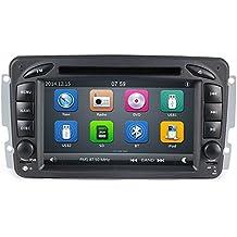 GPS DVD USB SD Bluetooth autoradio 2 DIN navigatore Mercedes classe C W203 / classe CLK W209 / classe A W168 / classe G W463 / classe E W210 / Vito / Viano W639 / Vaneo / W163 / W208 / C208 / W170 /