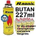 Rsonic Butan Gaskartusche 227ml MSF-1A für Campingkocher