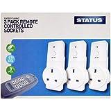 Statut de l'énergie Saving Pack 3 Sockets télécommandés