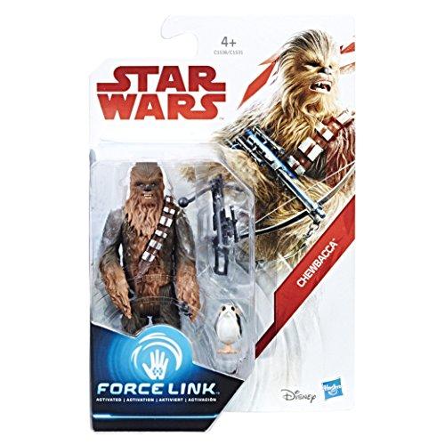 Hasbro - Star Wars : Les Derniers Jedi - Force Link - Chewbacca - Figurine 9,5 cm