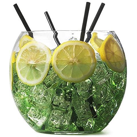 Bar@drinkstuff Bol à cocktail en verre 16,5 cm 2,6 l