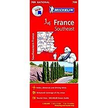 Southeast France Map 2015 (Mapas National Michelin)
