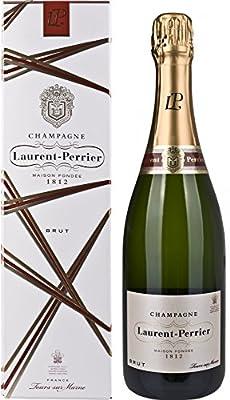 Laurent Perrier Brut mit Geschenkverpackung (1 x 0.75 l)
