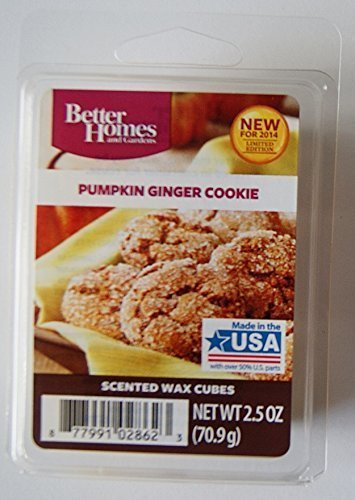 Better Homes and Gardens Pumpkin Ginger Cookie Wax Cubes by Better Homes and Gardens (And Gardens Homes Cookies Better)