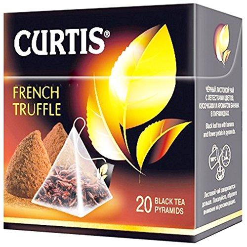 Curtis schwarzer Tee French Truffle 20 Pyramidenbeutel Pyramid Tea