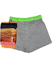 Mens Boxers Neon Band Kato Shorts Underwear Pack Of 3